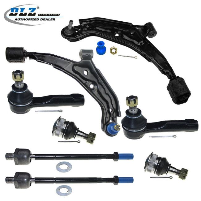 Front Lower Control Arm Tie Rod Ends Suspension Kit for Nissan Sentra 1991-1994